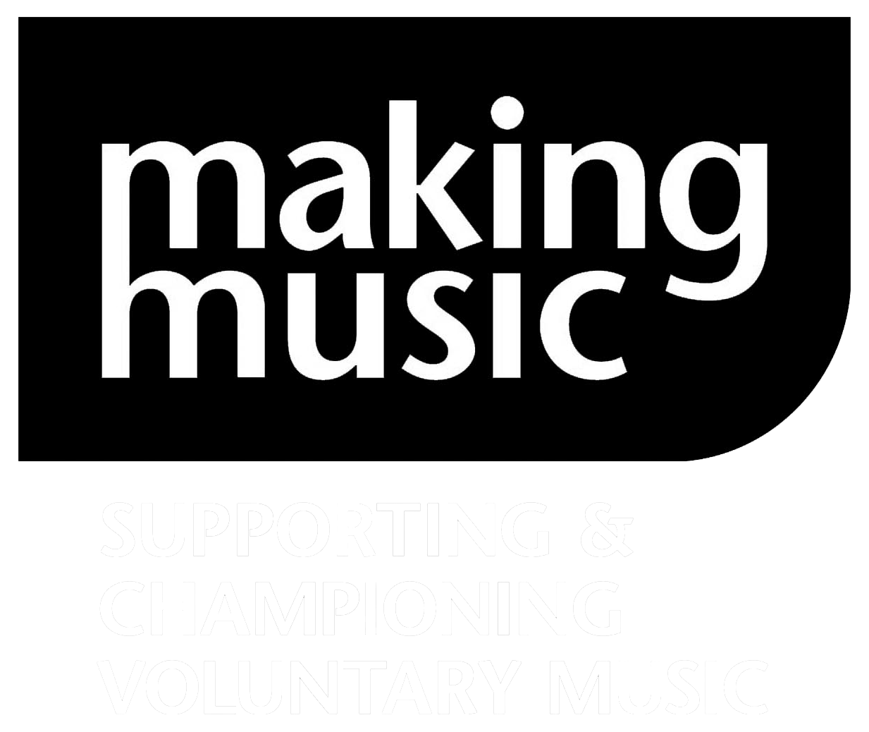 MAKING MUSIC Logo Web White